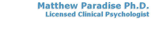 Matthew Paradise Ph.D.
